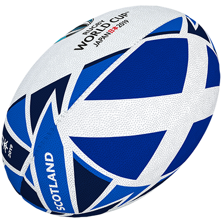 Gilbert Rugby Rwc 2019 Flag Scotland Size 5