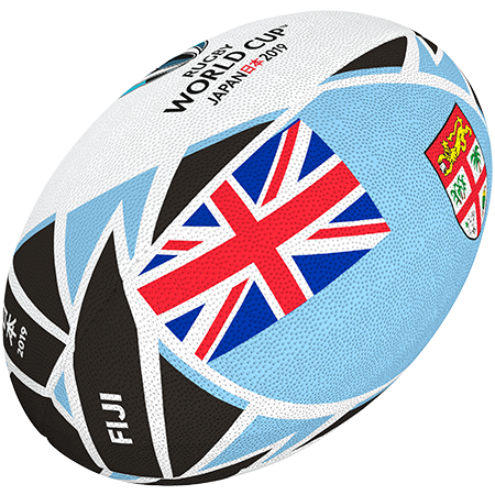 Gilbert Rugby 2019 Fiji Flag Ball