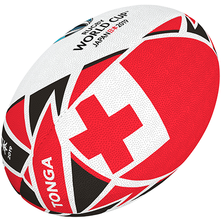 Gilbert Rugby 2019 Tonga Flag Ball