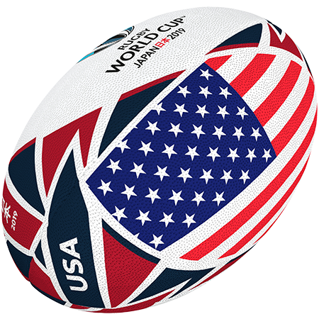 Gilbert Rugby 2019 USA Flag Ball