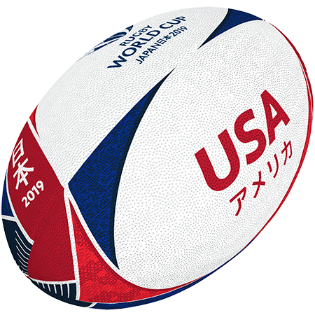 Gilbert Rugby 2019 USA Supporter Ball