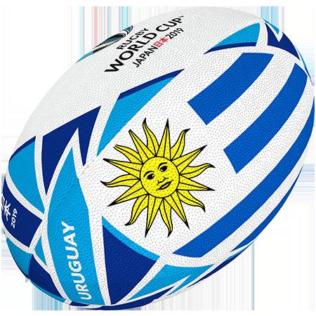 Gilbert Rugby 2019 Uruguay Flag Ball