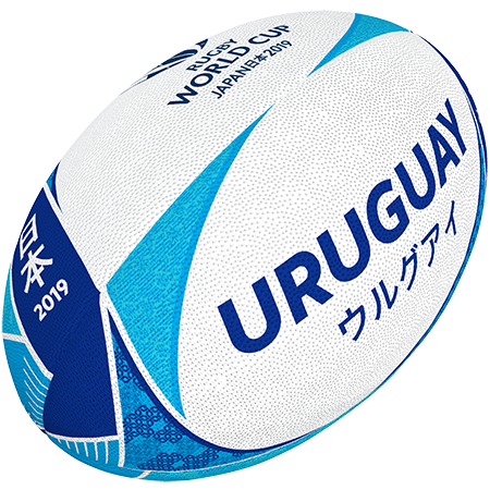 Gilbert Rugby 2019 Uruguay Supporter Ball