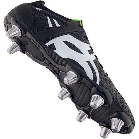 Gilbert Rugby Boots Kuro 8 Stud Black Sz 8 Main