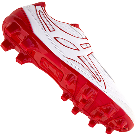 Gilbert Rugby Boots Sidestep V1 Lo Msx White_red Main