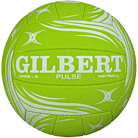 Gilbert Netball Pulse Green White View 1