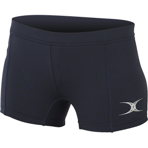 Gilbert Netball Eclipse Lycra Shorts Navy