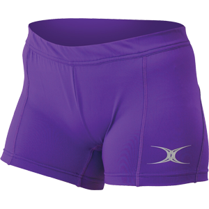 Eclipse Lycra Shorts Purple