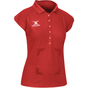 Blaze Polo Red with velcro