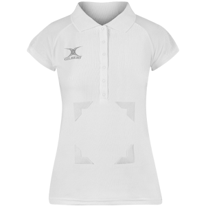 Blaze Polo White with velcro