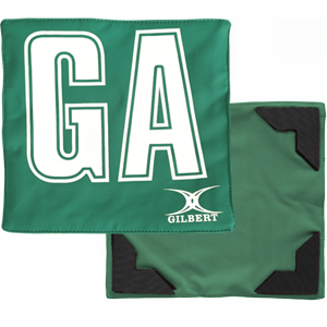 Green White Bib
