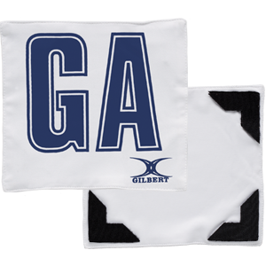 White Navy Bib