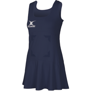 Gilbert Netball Flare Dress Navy