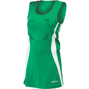 Eclipse Dress Green / White