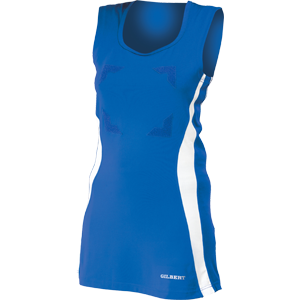 Gilbert Netball Eclipse Dress II Royal White