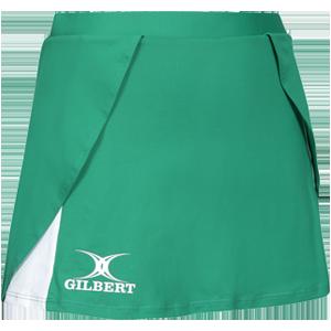 Gilbert Netball Helix Skort Green