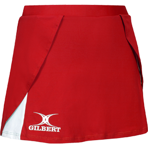 Helix Skirt Red