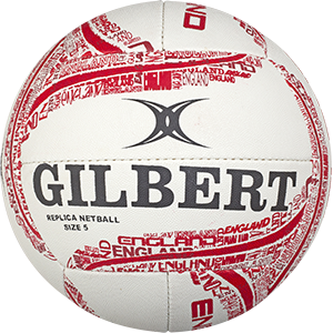 Gilbert Netball International Supporter England Ball