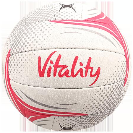 Gilbert Netball BALL SYN X5 SL VITALITY SZ 5 vitality panel