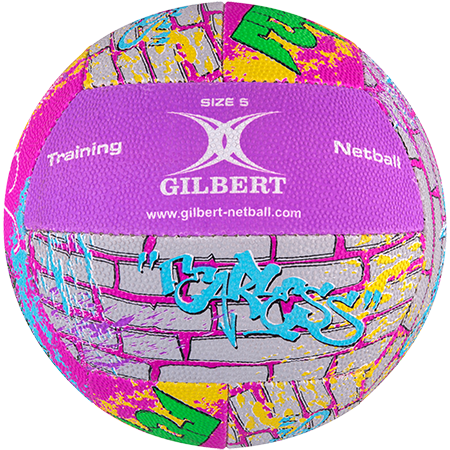 Gilbert Netball Signature George Fisher Side 1