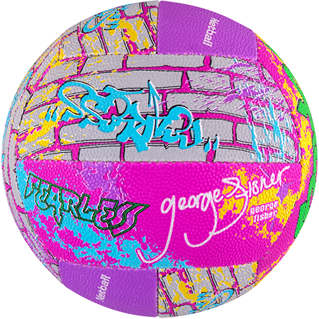 Gilbert Netball Signature George Fisher Side 3