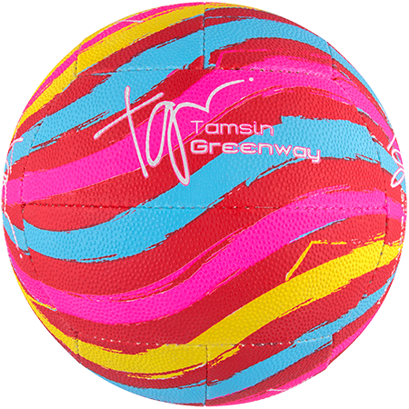 Gilbert Netball Signature Tamsin Greenway Swirl Side 3