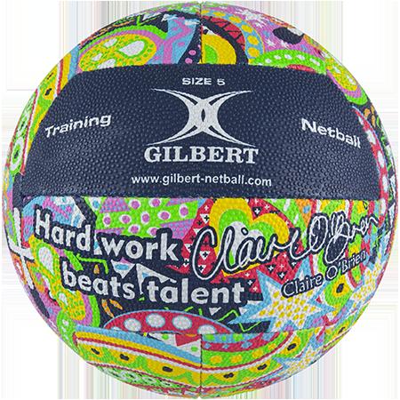 Gilbert Netball 12p Claire Obrien Sz5 Panel 1