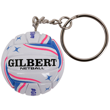 Gilbert Netball NB KEYRING PURPLE