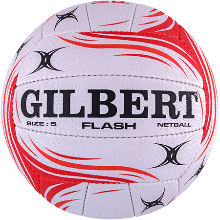 Gilbert Netball Flash England Vitality Size 5 Side 1