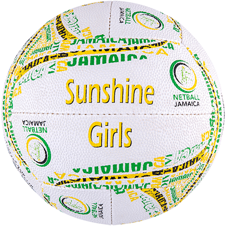 Gilbert Netball Jamaica Replica Side 2