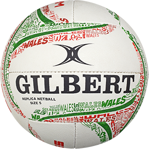 Gilbert Netball Replica Wales Ball