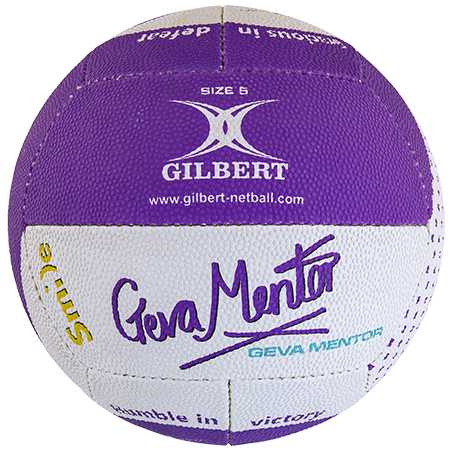 Gilbert Netball Balls (Replica/Supporter etc) Signature Geva Mentor Main