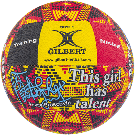 Gilbert Netball Signature Peace Proscovia Panel 1
