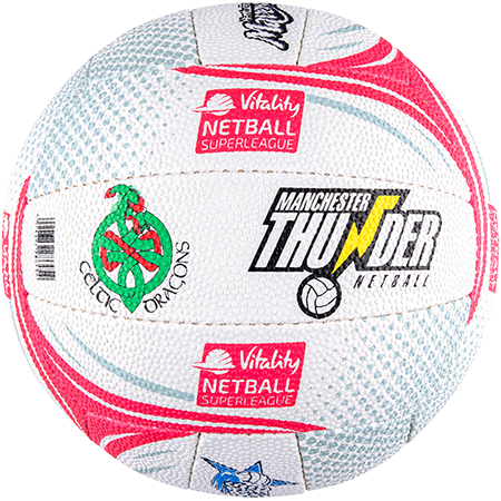 Gilbert Netball Emblem Superleague Side 4