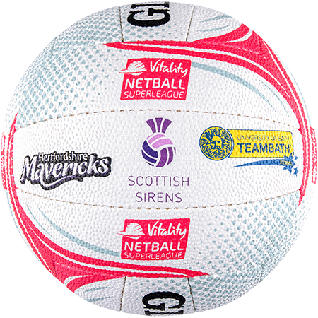 Gilbert Netball Emblem Superleague Side 5