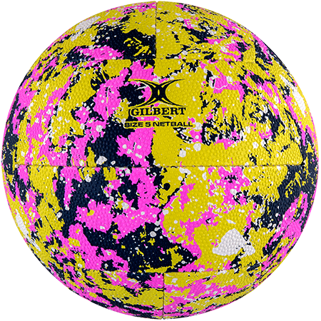 Gilbert Netball Supporter Splash Size 5
