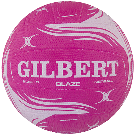 Gilbert Netball Training Match Blaze Pink Sz 5 Main