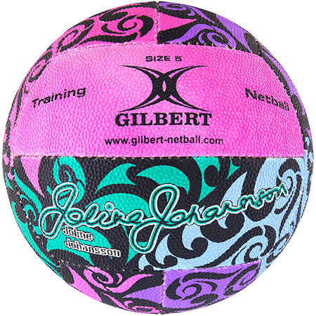 Gilbert Netball Balls (Replica/Supporter etc) Signature Joline Johansson Main