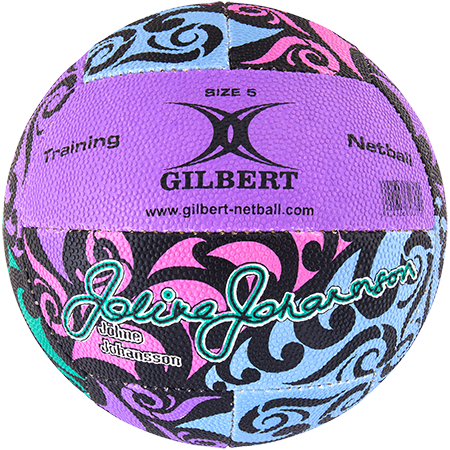Gilbert Netball Balls (Replica/Supporter etc) Signature Joline Johansson, Secondary