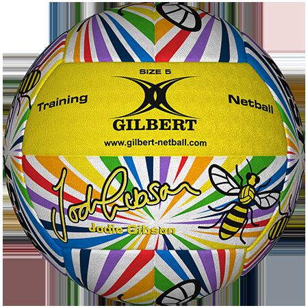 Gilbert Netball Balls (Replica/Supporter etc) Gibson Ball Panel 1