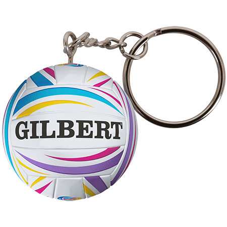 Gilbert Netball Netball World Cup NWC 2019 Keyring copy