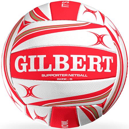 Gilbert Netball Balls (Replica/Supporter etc) Netball Supporter England 2019 Size 5 Primary