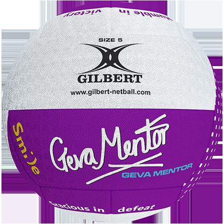 Gilbert Netball Balls Signature Geva Mentor Size 5 Primary