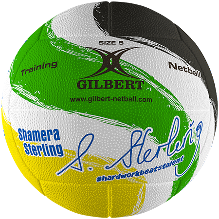 Gilbert Netball Signature Shamera Sterling Primary