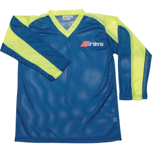 G100 Goalie Smock Blue-Yellow