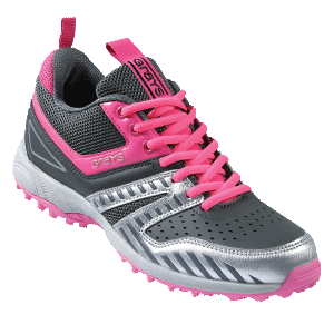 Grays Hockey G5000 Ladies Grey Pink Shoe