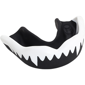 G3000 Duo White Black Mouthguard