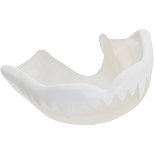 G3000 Duo White Clear Mouthguard