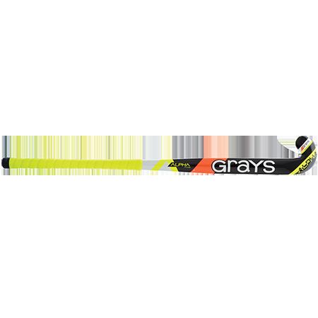Grays Hockey Alpha Yellow Front