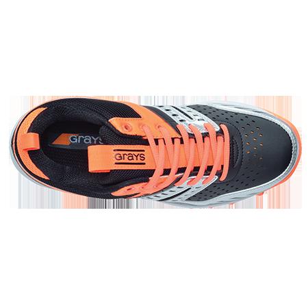 Grays Hockey G500 Jnr Black-Orange Top